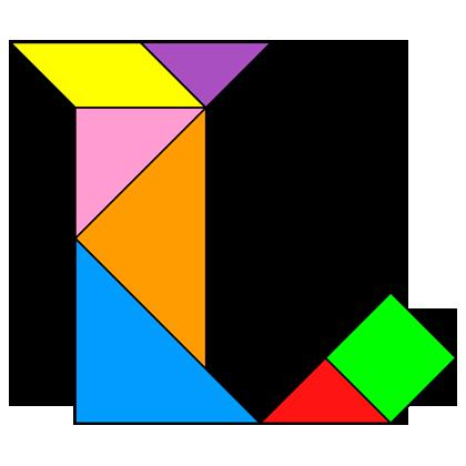 Tangram Letter L