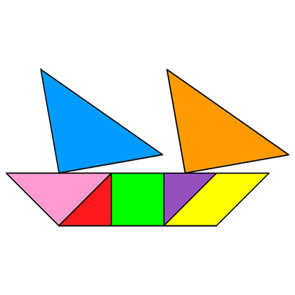 Tangram Schooner