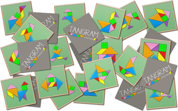 DIY - Tangram Memory Game - picture #1 - www.tangram-channel.com
