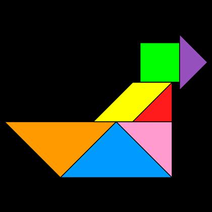 Tangram Airboat