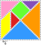 Large tangram set