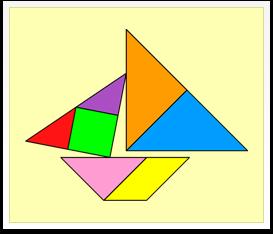 Tangram solutions - Boats - www.tangram-channel.com