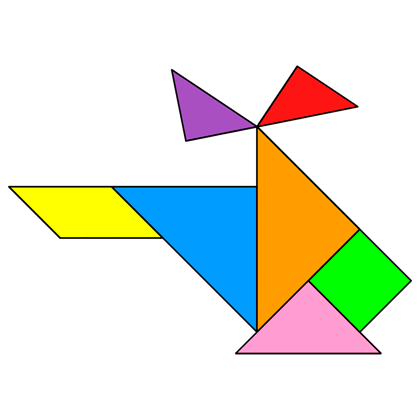 Helicopter Tangram Patterns along with worksheet tangram patterns