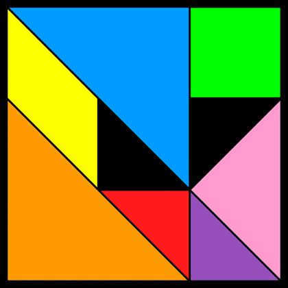 Tangram Incomplete square 7