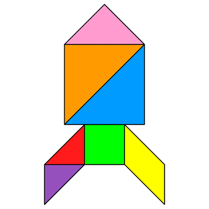 ... solution #201 - Providing teachers and pupils with tangram activities