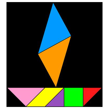 Tangram Sampan