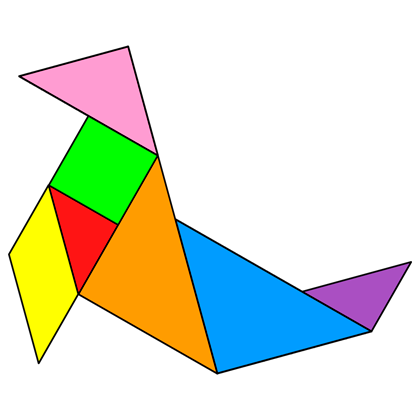 Tangram Sea Lion