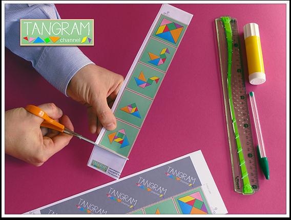 DIY - Tangram Memory Game - Tutorial Picture #7 - www.tangram-channel.com