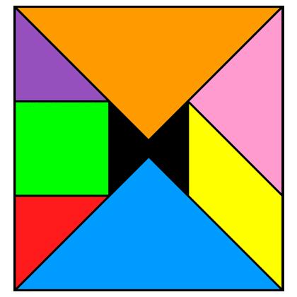 Tangram Incomplete square