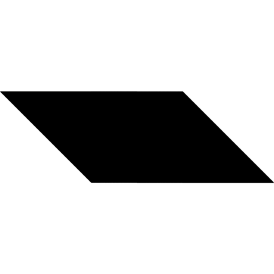 Tangram puzzle 79 : Parallelogram - Visit http://www.tangram-channel.com/ to see the solution to this Tangram