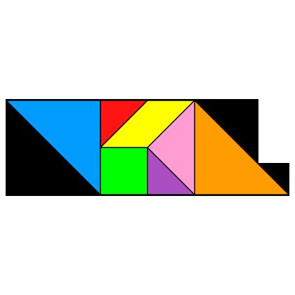 Tangram Parallelogram - Tangram solution #79 - Providing teachers and ...