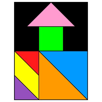 tangram well house