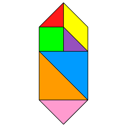 Tangram Hexagon