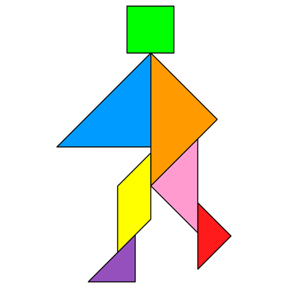 Tangram Walking