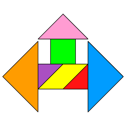 Tangram Triple Arrow