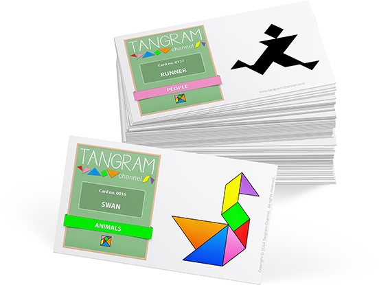 Tangram Trading Cards