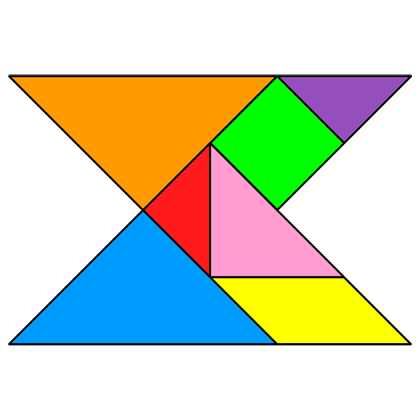 Tangram Concave polygon