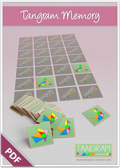 image about Printable Tangrams Pdf Free named Tangram Memory Video game Printables - Marketing academics and