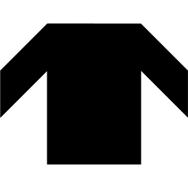 Tangram puzzle 7 : Shirt - Visit http://www.tangram-channel.com/ to see the solution to this Tangram