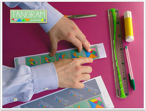 DIY - Tangram Memory Game - Tutorial Picture #5 - www.tangram-channel.com