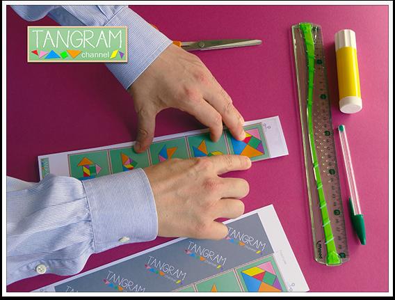DIY - Tangram Memory Game - Tutorial Picture #5 - www.tangram-channel.com