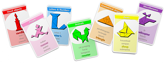 Tangram Happy Families Card Game - www.tangram-channel.com
