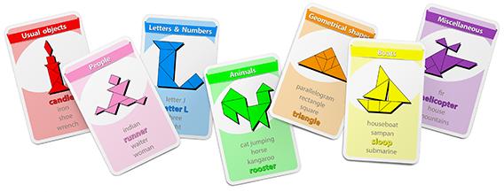 Tangram Happy Families Card Game - www.tangram-channel.com