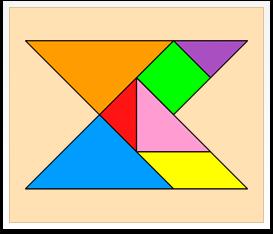 Tangram solutions - Geometrical shapes - www.tangram-channel.com