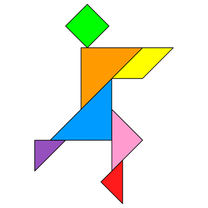 Tangram Dancer