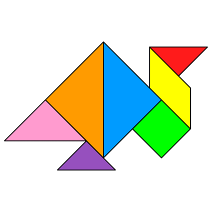 Tangram Turkey