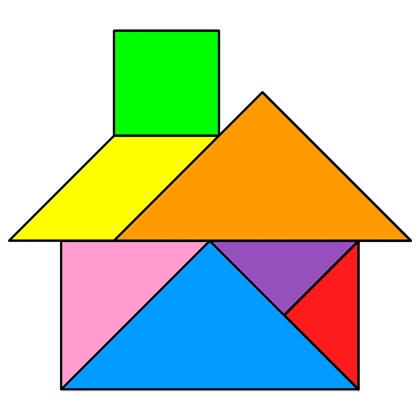 graphic relating to Printable Tangram titled Tangram Property - Tangram approach #20 - Promoting lecturers