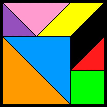 Tangram Incomplete square 11