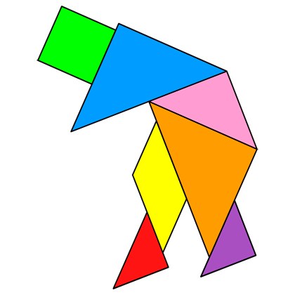 Tangram Old Man