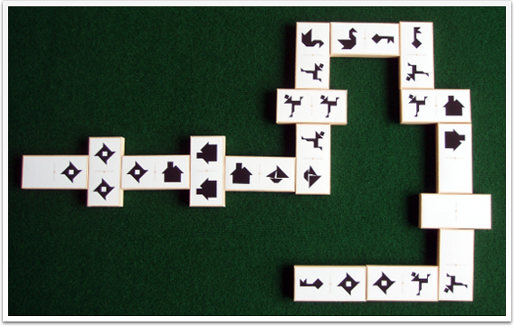 Tangram Dominoes - picture #3 - www.tangram-channel.com
