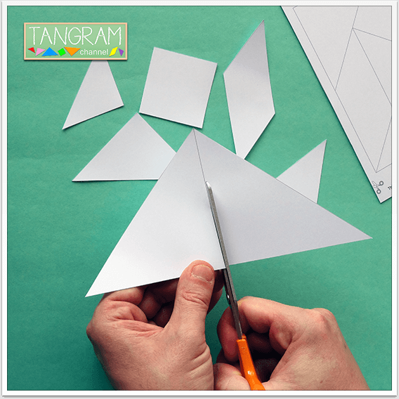 Two Printable Tangram Puzzles - Picture #5 - www.tangram-channel.com
