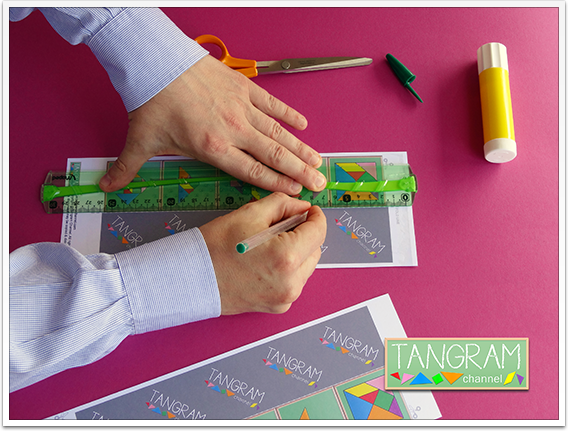 DIY - Tangram Memory Game - Tutorial Picture #4 - www.tangram-channel.com