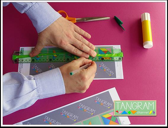 DIY - Tangram Memory Game - Tutorial Picture #4 - www.tangram-channel.com