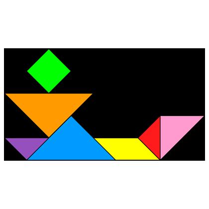 Tangram Angler