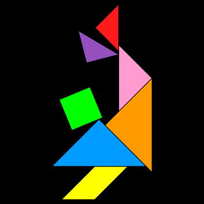 Tangram Acrobat