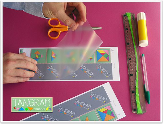 DIY - Tangram Memory Game - Tutorial Picture #3 - www.tangram-channel.com