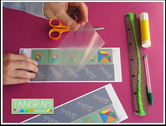 DIY - Tangram Memory Game - Tutorial Picture #3 - www.tangram-channel.com