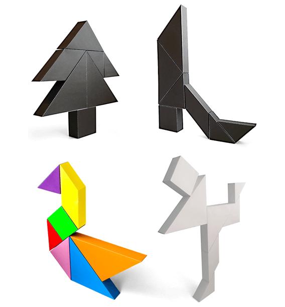 3D Tangrams - www.tangram-channel.com