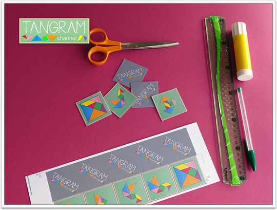 DIY - Tangram Memory Game - Tutorial Picture #8 - www.tangram-channel.com