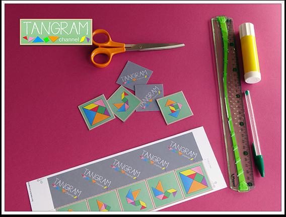 DIY - Tangram Memory Game - Tutorial Picture #8 - www.tangram-channel.com
