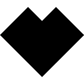 Tangram puzzle 60 : Heart - Visit http://www.tangram-channel.com/ to see the solution to this Tangram
