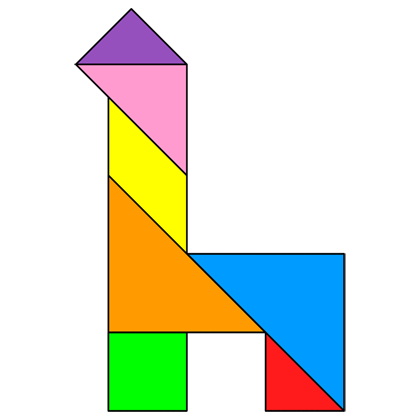Tangram Chair 3