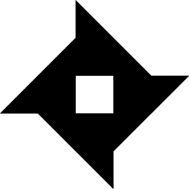Tangram puzzle 85 : Pinwheel - Visit http://www.tangram-channel.com/ to see the solution to this Tangram