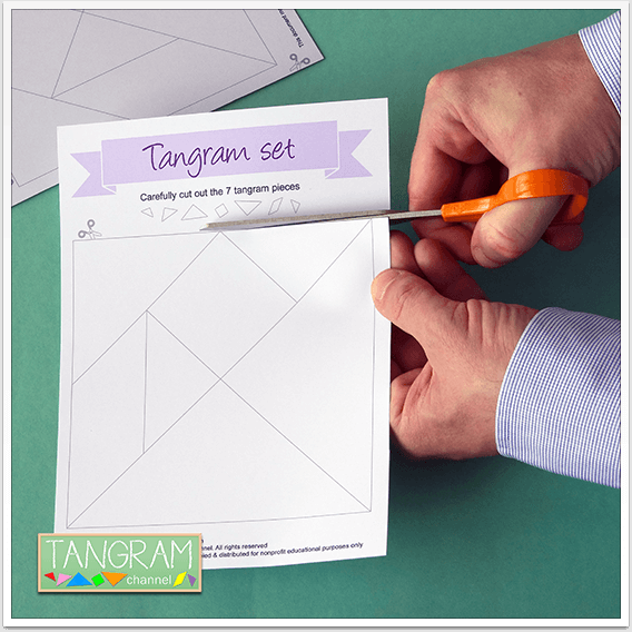 Two Printable Tangram Puzzles - Picture #3 - www.tangram-channel.com