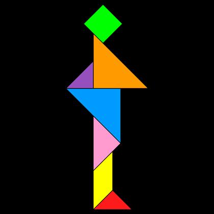 Tangram Standing