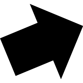 Tangram puzzle 19 : Arrow 3 - Visit http://www.tangram-channel.com/ to see the solution to this Tangram